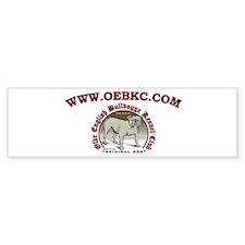 OEBKC Bumper Bumper Sticker