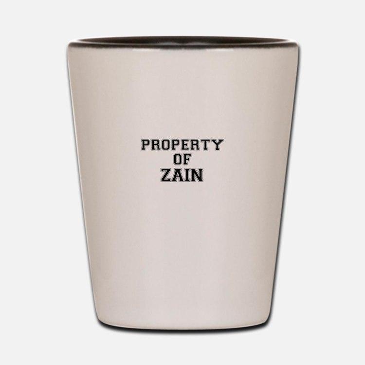 Property of ZAIN Shot Glass