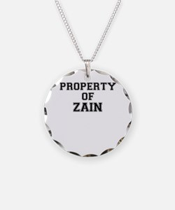 Property of ZAIN Necklace Circle Charm