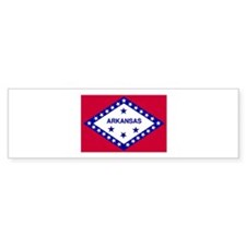 """Arkansas State Flag"" Bumper Bumper Sticker"