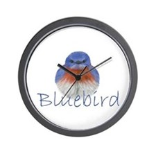 bluebird design Wall Clock