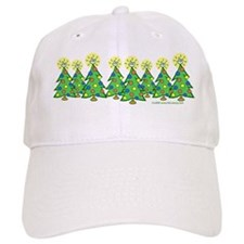 ILY Christmas Forest Baseball Cap
