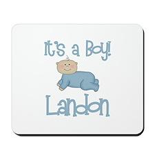 Landon - It's a Boy  Mousepad