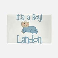 Landon - It's a Boy Rectangle Magnet