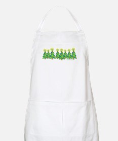ILY Christmas Forest BBQ Apron