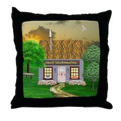 Teach Báicéireachta (Bakery) Throw Pillow