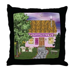 Candaí Stór (Candy Store) Throw Pillow