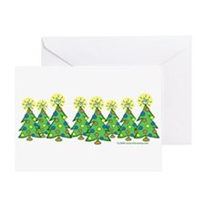 ILY Christmas Forest Greeting Card