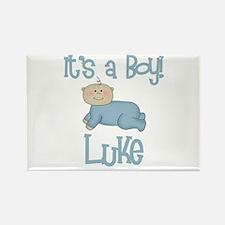 Luke - It's a Boy Rectangle Magnet