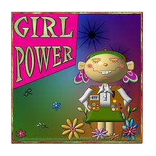 GIRL POWER, Tile Coaster