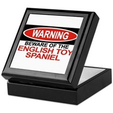 ENGLISH TOY SPANIEL Tile Box