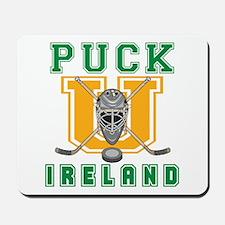 Funny Ireland Hockey Mousepad