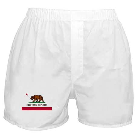 """California State Flag"" Boxer Shorts"