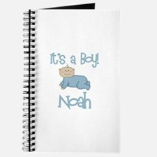 Noah - It's a Boy Journal