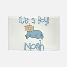 Noah - It's a Boy Rectangle Magnet