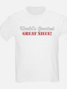 World's Greatest Great Niece T-Shirt