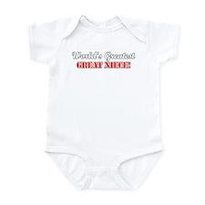 World's Greatest Great Niece Infant Bodysuit