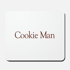 Cookie Man Mousepad
