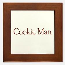 Cookie Man Framed Tile