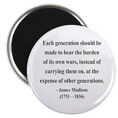 James Madison 5 Magnet