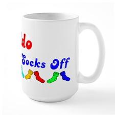 Aldo Rocks Socks (B) Mug