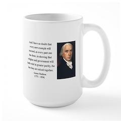 James Madison 7 Large Mug