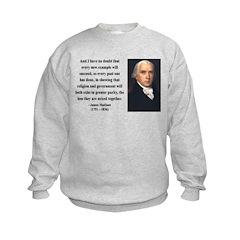 James Madison 7 Sweatshirt