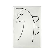 Se-he-ki (MRA) Rectangle Magnet (100 pack)