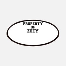 Property of ZOEY Patch