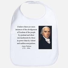 James Madison 8 Bib