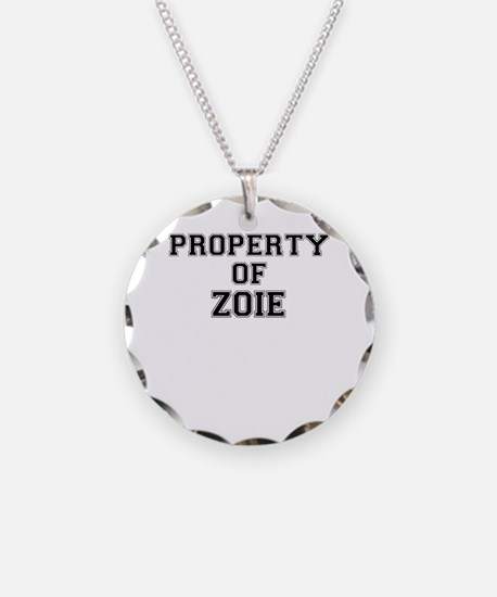 Property of ZOIE Necklace