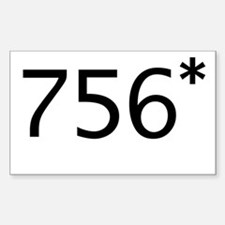756* Rectangle Decal