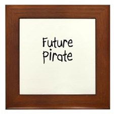 Future Pirate Framed Tile