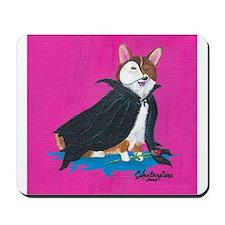 Phantom of the Opera Pembroke Welsh Corgi Mousepad