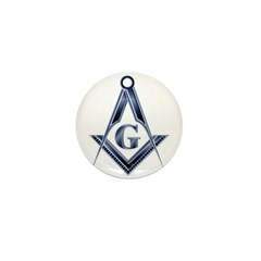 The Blue Masonic Lodge Mini Button (10 pack)