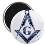 The Blue Masonic Lodge Magnet