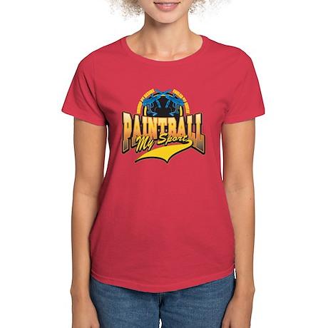 Paint Ball My Sport Women's Dark T-Shirt