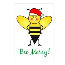 Bee Merry Postcards (Package of 8)