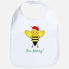 Bee Merry Bib
