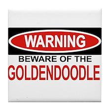 GOLDENDOODLE Tile Coaster