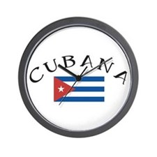 CUBANA Wall Clock