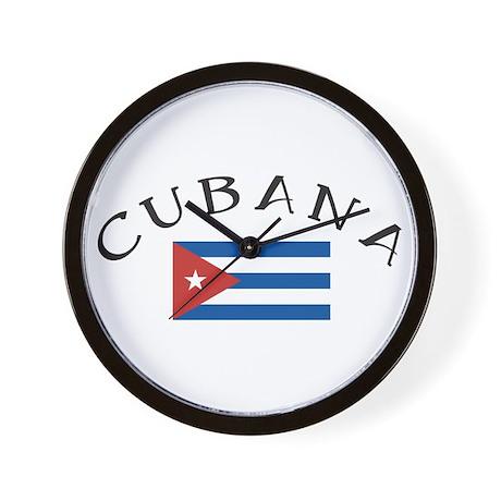 CUBANA Wall Clock