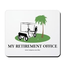 Golf Retirement Mousepad