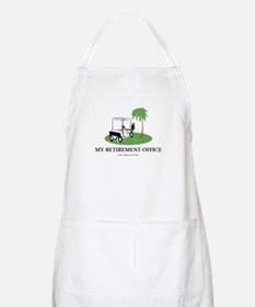 Golf Retirement BBQ Apron