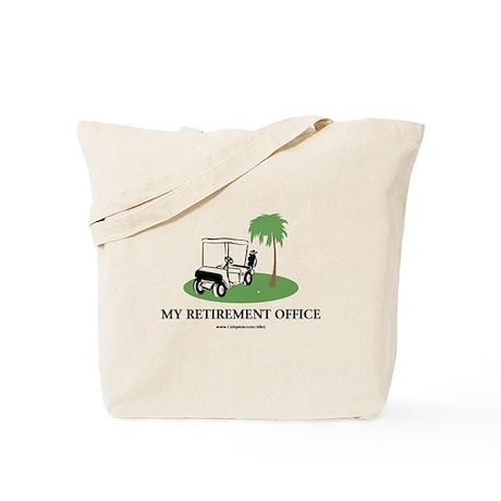 Golf Retirement Tote Bag
