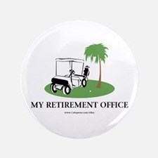 "Golf Retirement 3.5"" Button"