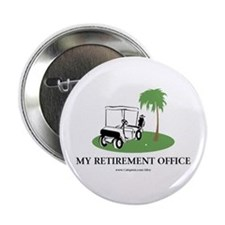 "Golf Retirement 2.25"" Button"