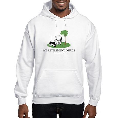 Golf Retirement Hooded Sweatshirt