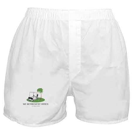 Golf Retirement Boxer Shorts