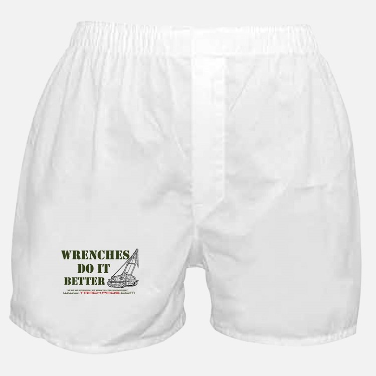 Wrenches Do It Better Boxer Shorts